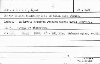 Vdavky Nanynky Kulichovy a co se kolem nich sběhlo                         (Díl 2)