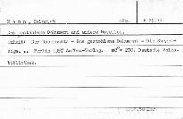 Das gestohlene Dokument