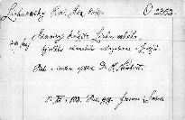 Memoiry knížete Lichnowského.