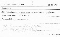 Josef Hybeš.II.Dokumenty