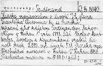 Krátké vypravování o životě Jeho Excel. pana Frant. Ant. hraběte ze Sporcků, sepsané jeho pážetem Ferd. Rakovským v Kuksu 1. září 1778