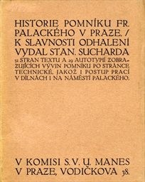 Historie pomníku Fr. Palackého v Praze