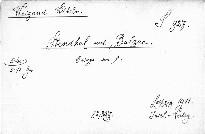 Stendhal und Balzac