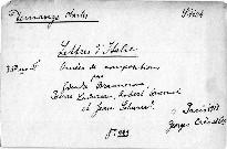 Lettres d'Italie.