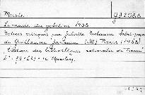 Le musée des gobelins 1938