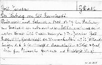 Der Vertrag von Alt - Ranstaedt