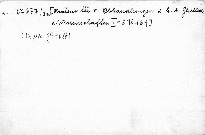Ein Bernaregister des Pilsner Kreises