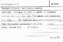 Dokumenty k historii mnichovského diktátu.
