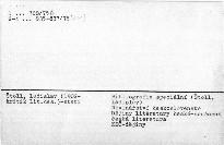 Bibliografie díla Ladislava Štolla. /do r.197