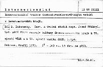 Internacionální tradice československo-sovětských vztahů v Severomoravském kraji                         (Část 2)