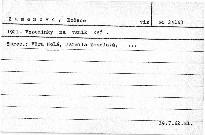 1921. Vzpomínky na vznik KSČ.
