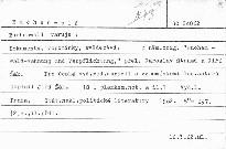 Buchenwald varuje.