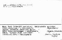 Prehĺadná bibliografia diel K. Marxa, F. Enge