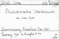 Philosophisches Wörterbuch