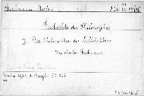 Geschichte der Philosophie.(III.)
