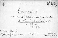 Pamětní spis na oslavu 300 letého trvání společenstva knihařů, ozdobníků atd. v Praze
