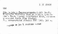 Kdo je kdo v Československu