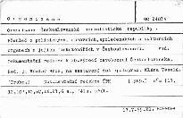 Organizace Československé socialistické republiky