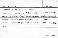 Rejstřík ke spisům V.I.Lenina                         (Sv.2)