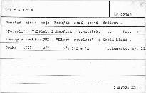 Památná místa boje československého lidu prot