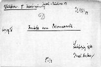 Briefe Kaiser Wilhelms I. an Bismarck