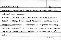 Dokumenty o nepřátelské činnosti vlády USA pr