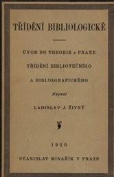 Třídění bibliologické