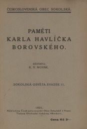 Paměti Karla Havlíčka Borovského