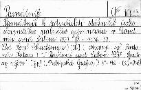Památník k šedesátiletí státního československého reálného gymnasia v Roudnici nad Labem
