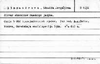 Česko-anglický slovník středního rozsahu; Slovar sinonimov russkogo jazyka
