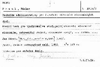Technika administrativy pro II. ročník SEŠ