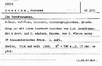 Die Verrätergasse.Stücke,Aufsätze,Gedichte...