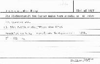 Die Niederschrift des Gustav Anias Horn...