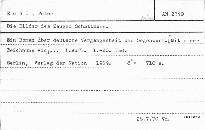 Die Bilder des Zeugen Schattmann