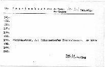 Schulzenhofer Kramkalender.