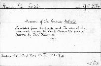 Memoirs of sir Andrew Melvill
