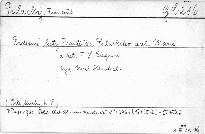 Rodinné listy Fr.Palackého dceři Marii a zeti