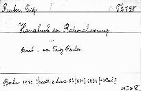 Handbuch der Rationalisierung.