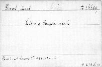 Lettres a Francoise Mariée.