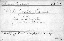 Dílo Josefa Mánesa                         (Sv. 2,)