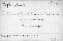 Les théories d'Anatole France