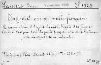 Cinquante ans de Pensée Francaise