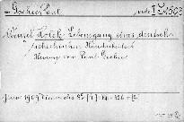 Lebensgang eines deutsch-tschechischen Handar
