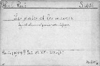 Les dates et les oeuvres.Symbolisme et poésie