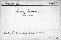 Henry Bordeaux.
