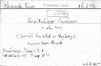 Kapitulácia Maďarov v roku 1918