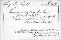 Zpráva o visitaci far kraje Chrudimského.
