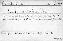 Ecrits des Curés de Paris