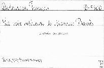 La voix intérieure de Maurice Barres.