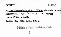 Patnáct let československého filmu